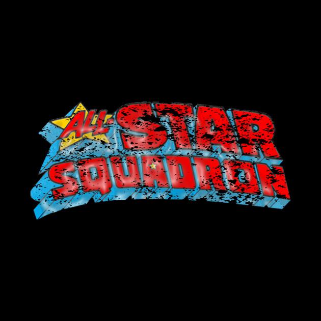 All Star Squadron distressed