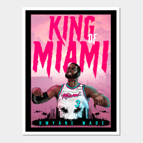 a72025ef10b Dwyane Wade Posters and Art Prints