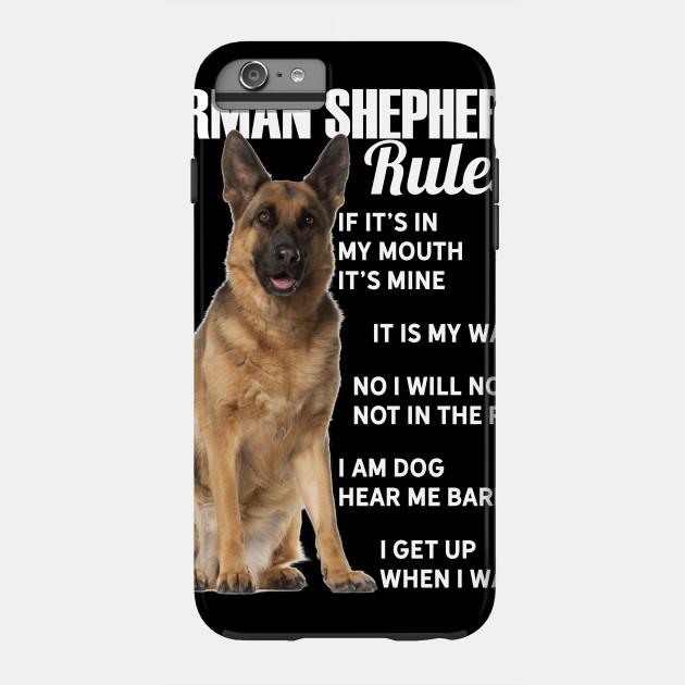 Funny german shepherd dog lover owner t shirt gift idea f51b