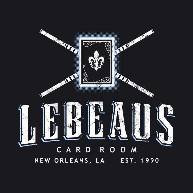Lebeau's Card Room - New Orleans, LA - Distressed