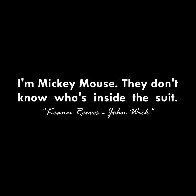 I\'m mickey mouse... \