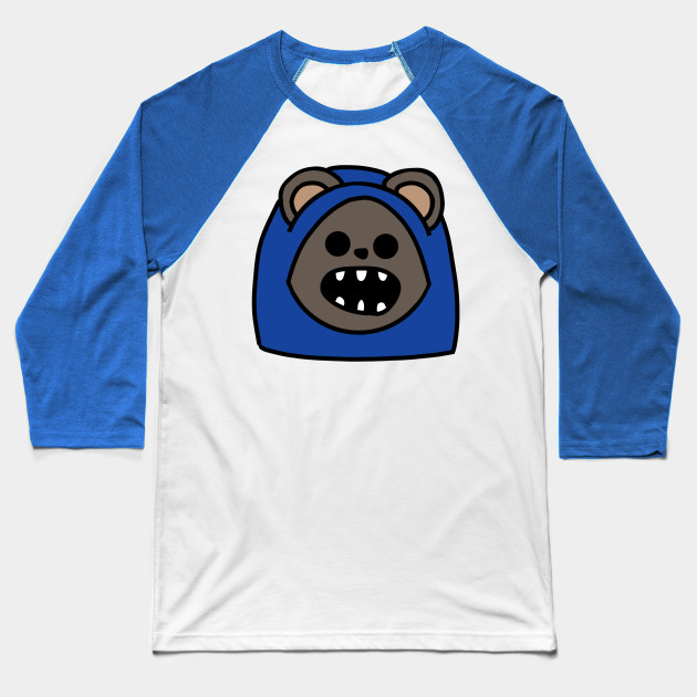 Ewok Head 3 (Large Print) Baseball T-Shirt