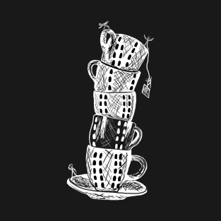 Leaning Tower of Tea Cups