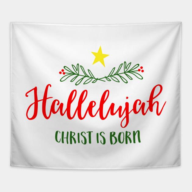 Christmas Hallelujah Tapestry
