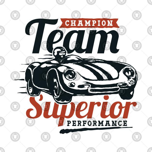 Champion Team Superior Performance Vintage Design