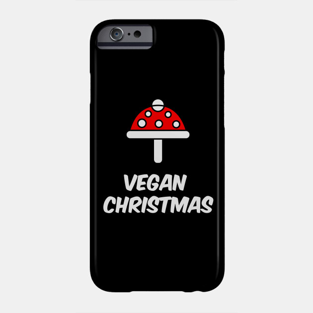 Vegan Christmas Christmas Holiday Party Veggie Vegetarian Gift Phone Case