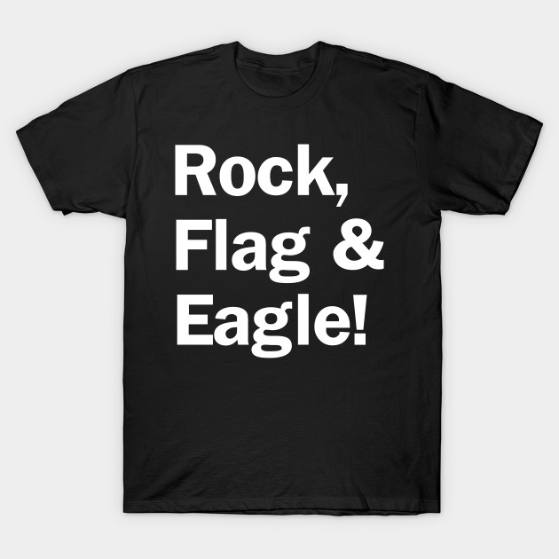 Rock, Flag & Eagle