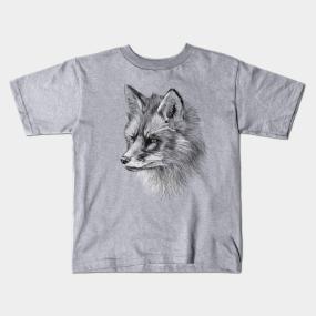 60c318c15c92 Cartoon Fox Kids T-Shirts