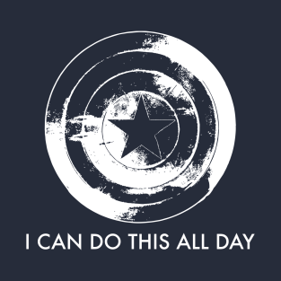 I Can Do This All Day (Captain America) t-shirts