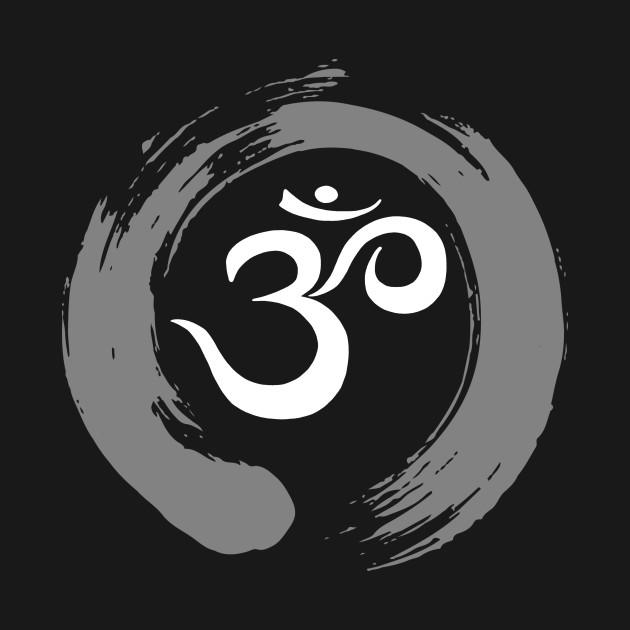 Ohm Sanskrit Symbol Zen Circle Namaste Peace Ohm Symbol T Shirt