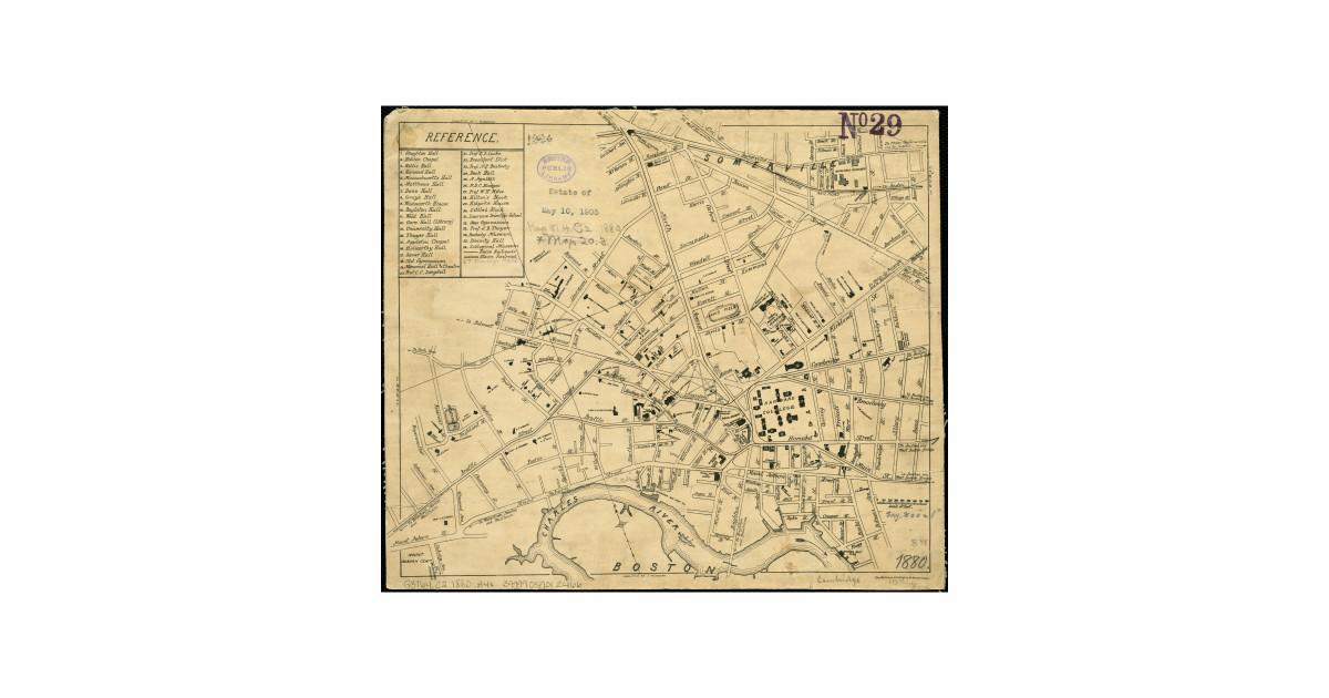 Cambridge Machusetts Map on
