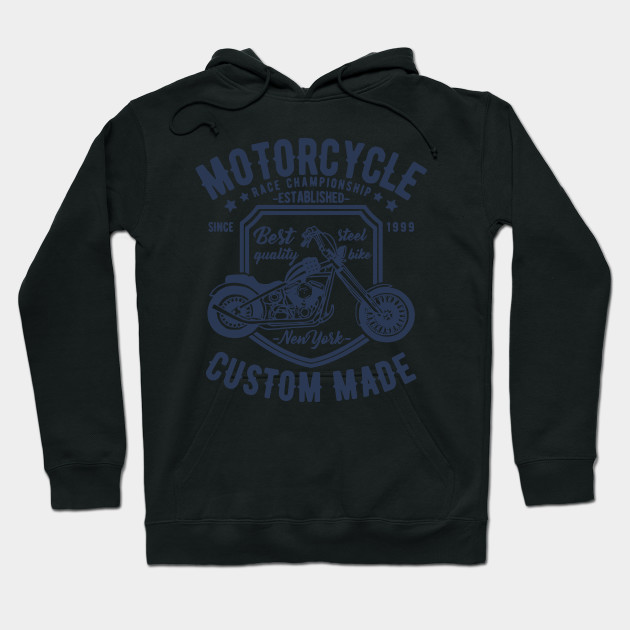 Hoodie BLACK Buell Racing motorbike motorcycle USA