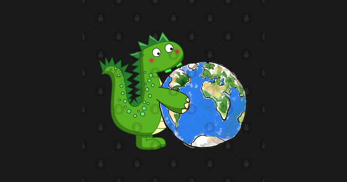 dinosaur I Found This earth , Earth Day 2021 51st ...