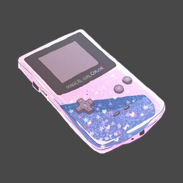 90s Nostalgia Series: Glitter Gameboy