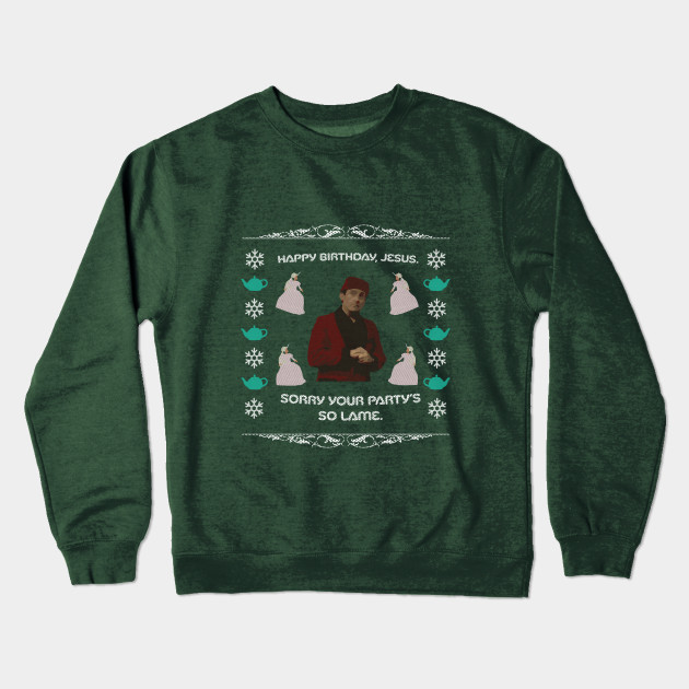 The Office Ugly Christmas Sweater The Office Crewneck