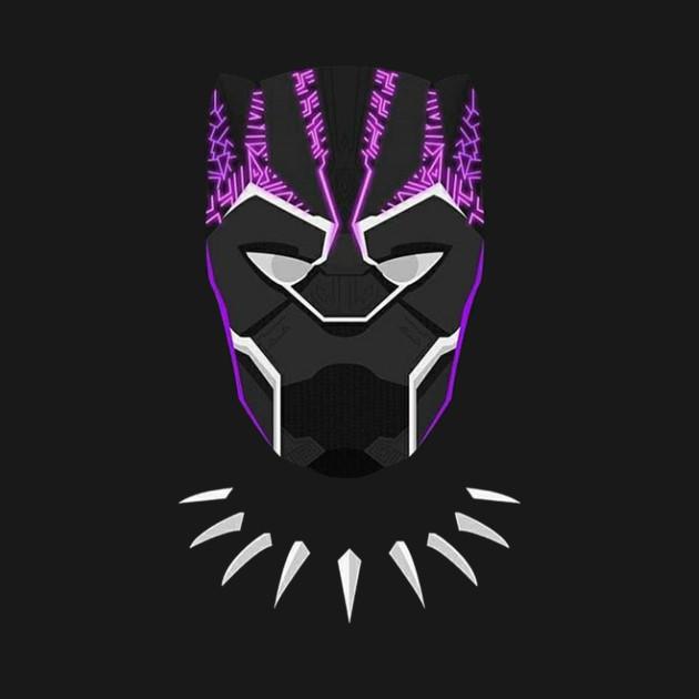 purple black panther