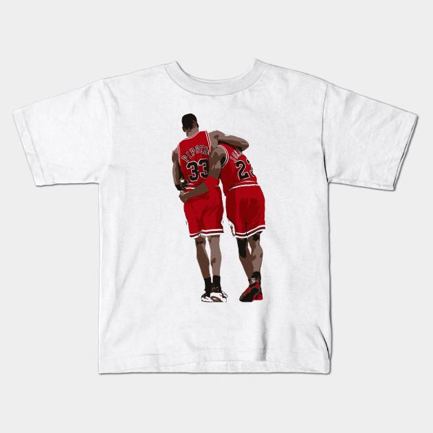 57e0899db25 The Flu Game - Michael Jordan - Kids T-Shirt   TeePublic