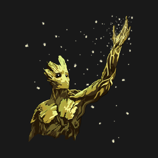 Glowing Groot