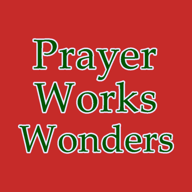 Image result for prayer works, red