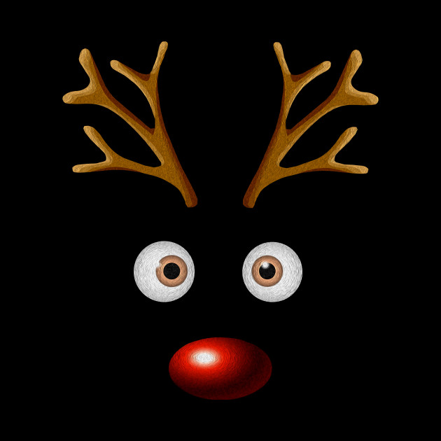 Funny Reindeer Christmas Gifts Xmas Family Holidays Gift