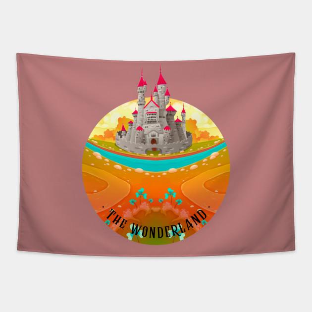 The Wonderland Pink Castle