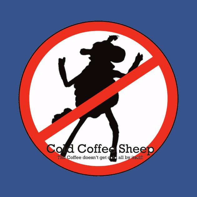 Cold Coffee Sheep Logo