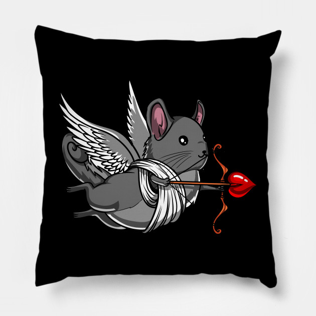 Chinchilla Mouse Pet Cute Valentines Day
