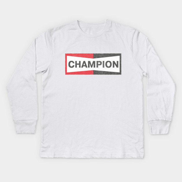 38caddd95 Cliff Booth Faded Champion Logo T-Shirt - Once Upon A Time In Hollywood Kids  Long Sleeve T-Shirt