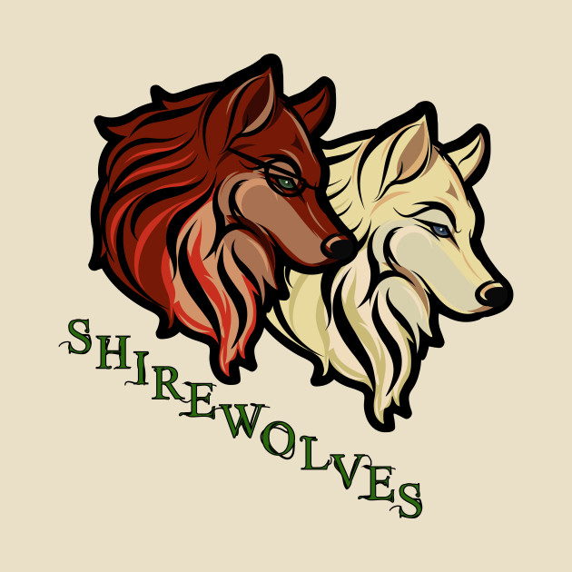 SHIRE WOLVES WOLF DESIGN