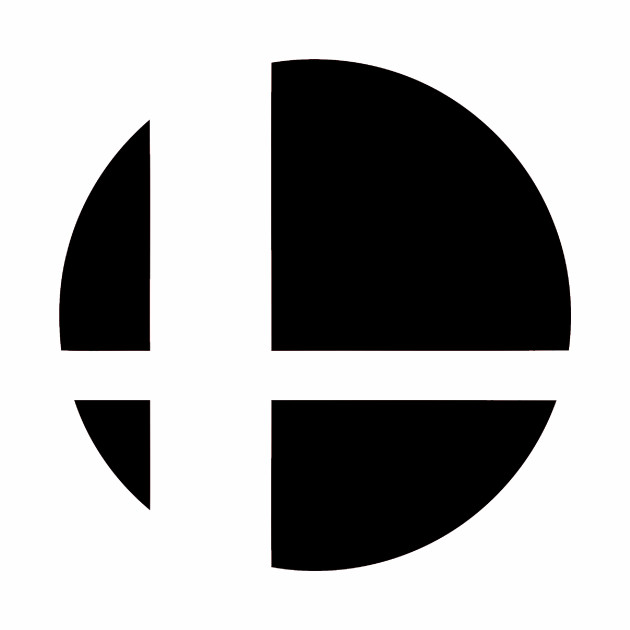 Super Smash Bros. Logo (Black)