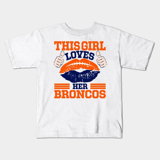 kids broncos t shirt