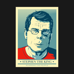 Stephen King Poster t-shirts