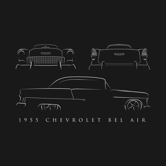 1955 Chevy Bel Air - composite