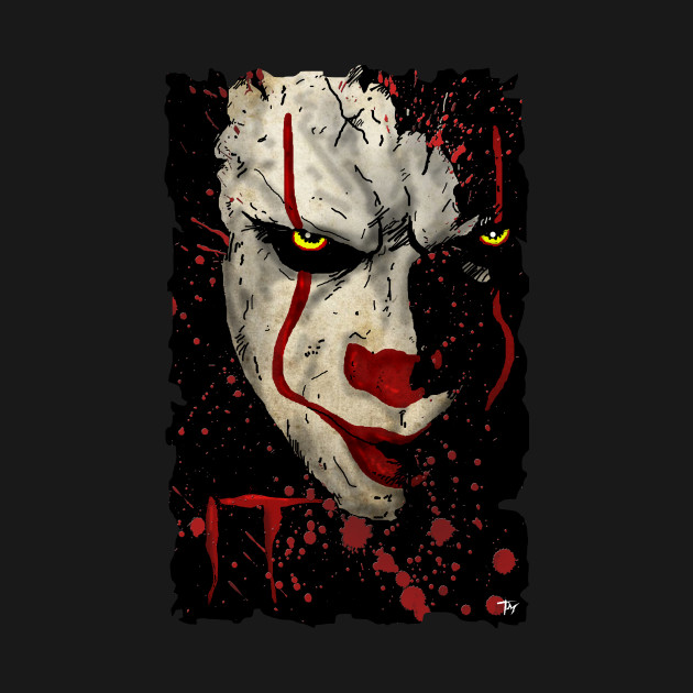 Pennywise the dancing Clown - It - T-Shirt   TeePublic