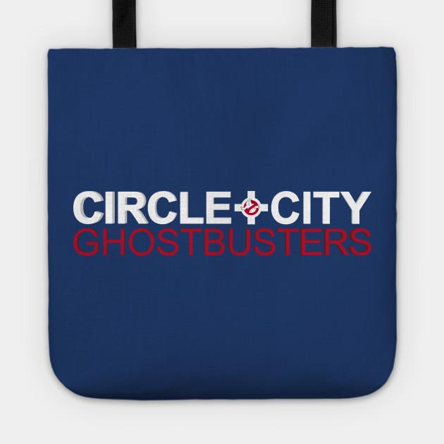 Circle City Ghostbusters Wordmark (Dark Shirts)