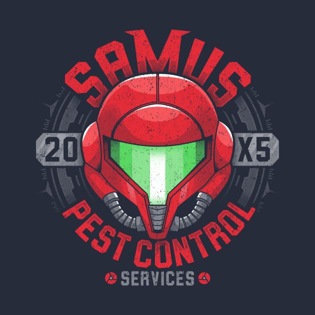 Samus Pest Control T-Shirt