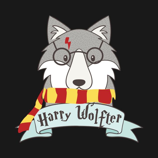 Christmas Wolf.Harry Wolfter T Shirt Funny Christmas Wolf Cute Gift