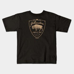 Yellowstone National Park Walking Bison Sweatshirt JCombs
