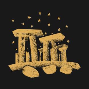 Stonehenge Golden T-Shirt