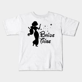 bride tribe 4 kids t shirt