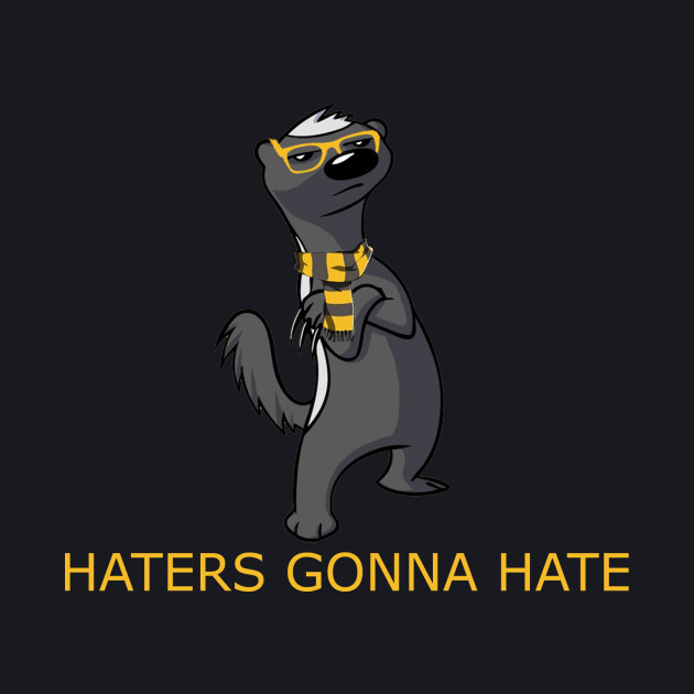 Haters gonna hate Hufflepuff