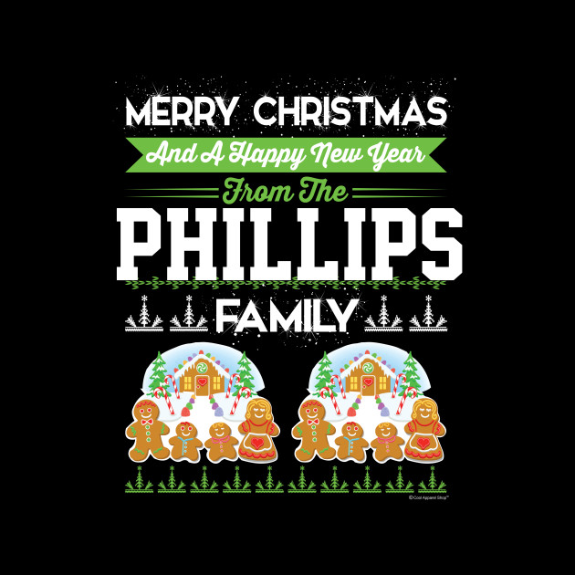 Merry Christmas And Happy New Year The Phillips