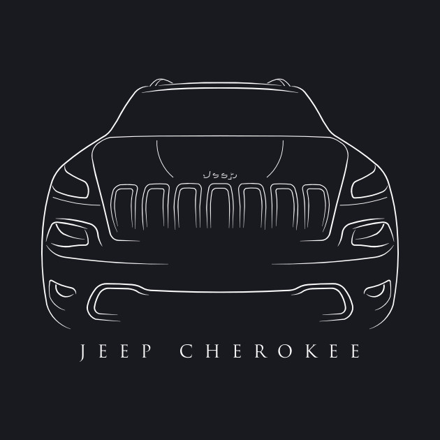 Jeep Cherokee KL - Stencil