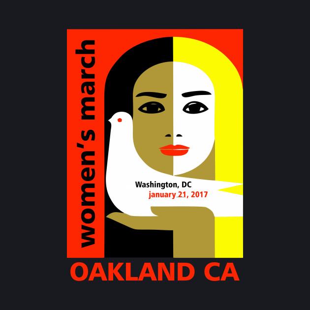 Women's March on Oakland CA January 21, 2017