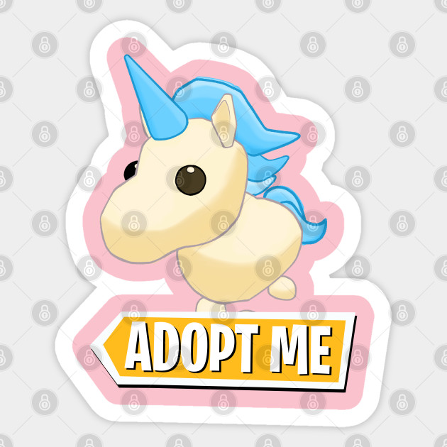 Adopt Me Golden Unicorn Adopt Me Sticker Teepublic