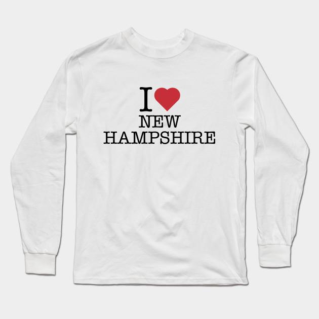 I Love Heart Hampshire Sweatshirt