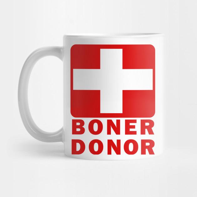 Boner Donor Coffee Mug
