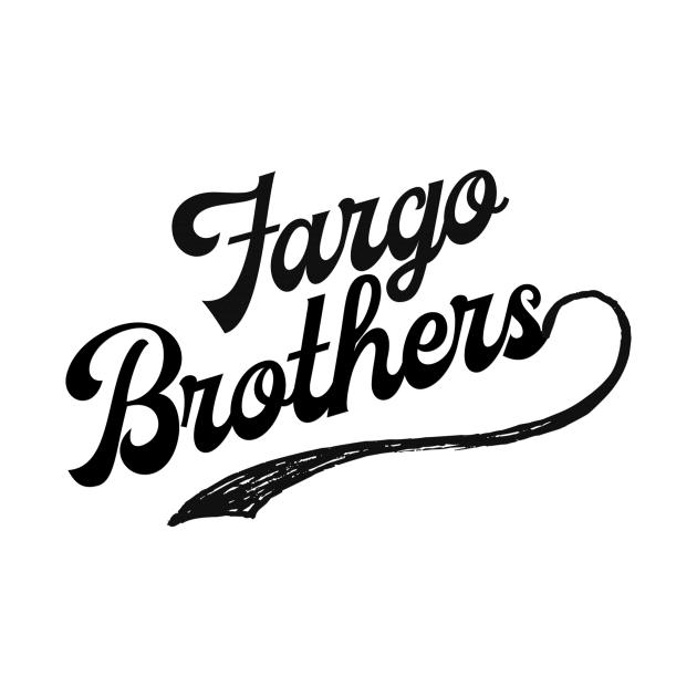 Fargo Brothers Logo - Black Letters