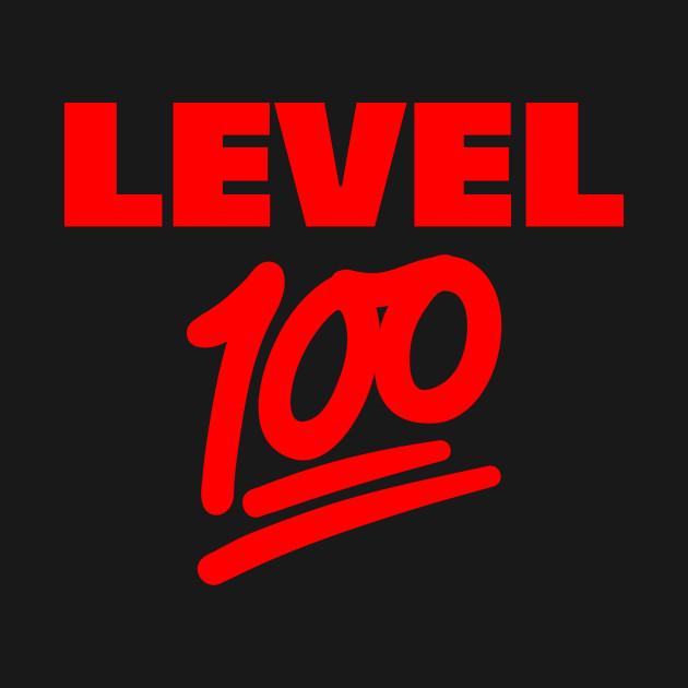 80cbe8a3 Keep It Level 100 Emoji (red) - Keep It 100 - T-Shirt | TeePublic