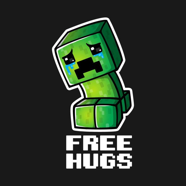 Sad creeper - Minecraft - T-Shirt | TeePublic